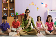 Pragyan English Medium Co Educational School-Yoga