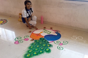 Achievers Heights International School-Rangoli