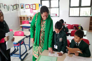 Delhi Public World School-Classroom
