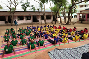 Kendriya Vidyalaya-International Yoga Day