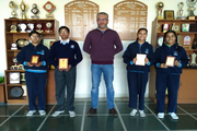 Gem Public School-Award Receiving