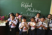 Vardhman International Public School-Puppet Making Competition
