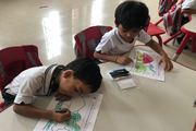 Delhi Public School-Colouring Competetion