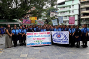 Government girls senior secondary school - anti tobacco day