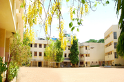 Asan Memorial Senior secondary School-Campus view