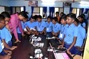 Kamalavathi Higher Secondary School-Atal Mentors Visit December 2018