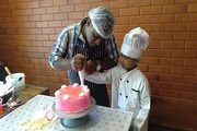 Velammal Bodhi Campus-Cake Making by Little Chef