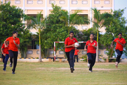 Velammal Residential School-Handball Game