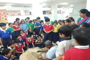 Edify World School-Learning of pot making