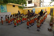 Sangam International School- Assembly