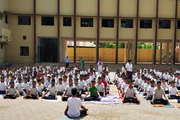 Adarsh Vidyalalya English Medium Higher Secondary School-Yoga