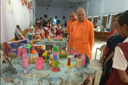 Ramakrishna Mission English School-Art Exhibition