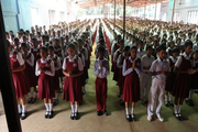 Ramakrishna Mission English School-Assembly