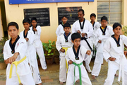 Don Bosco School-Karate