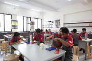 Dosti Foundation School-Chemistry lab