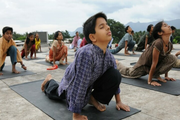 Isha Home School-Yoga