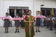 City Montessori Inter College-Assembly on Environment