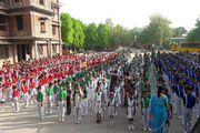 De Paul School-Morning Assembly
