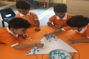 Vishwashanti gurukul art& craft