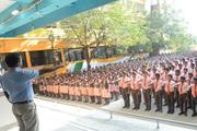 Little Flower Matriculation Higher Secondary School-Assembly