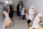 Jame Ul Uloom Pre University College for Girls-Biology Lab