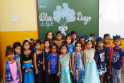 Tilak International School-Blue Day