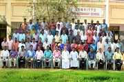 St Britto Higher Secondary School- Staff Group Photo