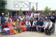 Sehara Bazar Chandra Kumar Institution-Staff Group Photo