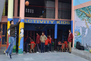 Activity Public Higher and Secondary School-Basket Ball Court
