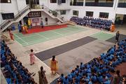 Bhartiya Vidya Mandir Senior Secondary School- Campus assembly