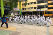 S M P Model High School-Karate