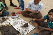 Sage School-Ganesh Making