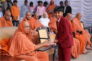 Shree Swaminarayan Gurukul International School- Morbi-Felicitation