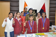 D A V Police Public School-Achievement