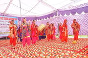 Haryana Senior Secondary School- Group Dance