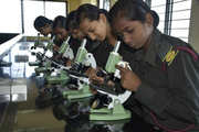 Kittur Rani Channamma Residential Sainik School For Girls-Biology lab