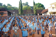 Nitk English Medium School-Assembly