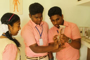 B F M Residential English Medium School-Biology Lab