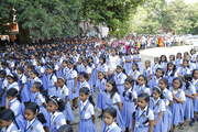 N S S Higher Secondary School-Assembly