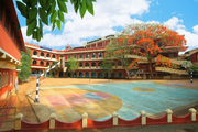 Sabarigiri English School-Basket ball ground
