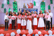 St Thomas English Medium School-Carol Singing