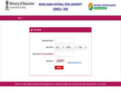 IGNOU OPENMAT 2020 Result Announced, Here's Direct Link