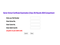 CBSE Class 12 Compartment Exam Result Declared; 59.43% Pass