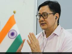 'Fit India' Campaign Integral Part Of Over 2 Lakh Schools: Kiren Rijiju