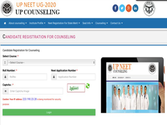 UP NEET Counselling 2020 Registration Begins At Upneet.gov.in, Here's How To Apply