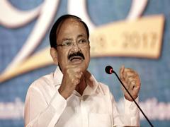 Vice President Addresses Manipal Academy's MV Kamath Endowment Lecture