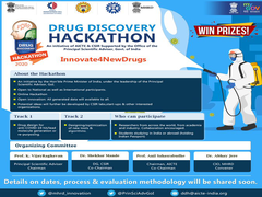CSIR, AICTE To Hold Drug Discovery Hackathon 2020