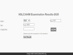 Assam HSLC Result 2020 Released, Direct Link Here: Live Update