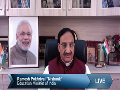 """""""Our Priority Is Safety And Security Of Students And Teachers"""": HRD Minister"""