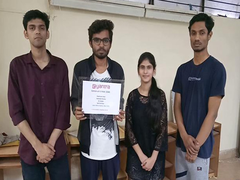 Jamia Millia Team Wins Robotics Competition Hosted By IIT Bombay